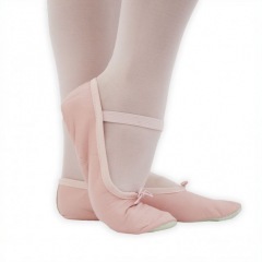 Gymnastics/Ballet Shoes with Rubber Sole