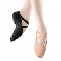 StretchPro Stretch Canvas Split-Sole Ballet Shoes in LIGHT PINK
