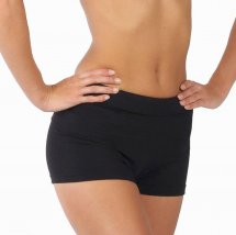 Comfortable Hot Pants Black - Adult sizes