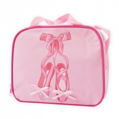 Ballet Suitcase with Pointeshoe Print