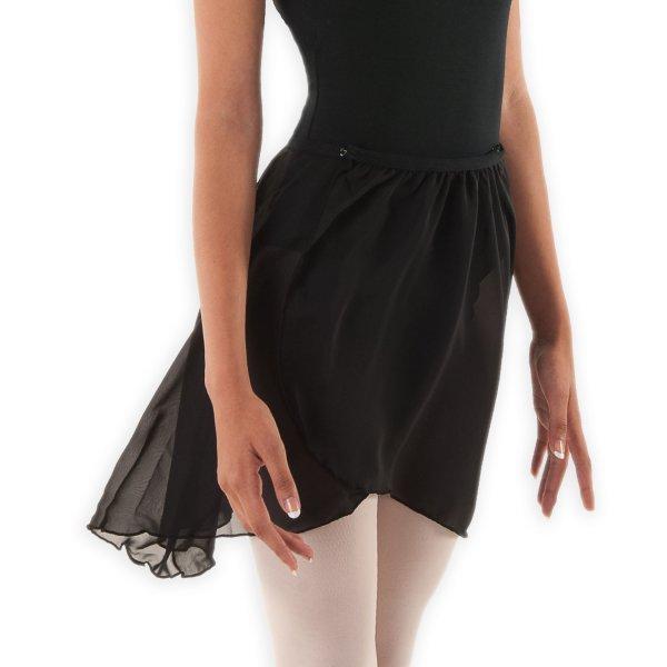 SYMFONIA Ballet Skirt Cross Over in Black larger image