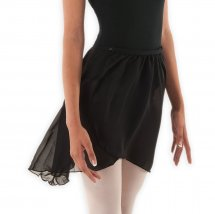 SYMFONIA Ballet Skirt Cross Over in Black