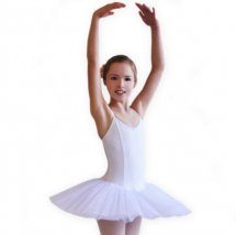 """Pavlova"" Tutu with camisole body in white"
